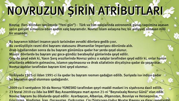 infoqrafika - Novruzun şirin atributları - Sputnik Azərbaycan