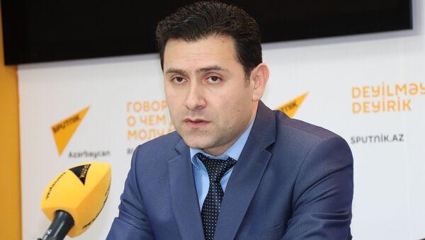 Azərbaycan Rieltorlar Assosiasiyasının icraçı direktoru Elnur Azadov - Sputnik Azərbaycan