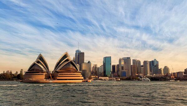 Оперный театр, Сидней, Австралии - Sputnik Азербайджан