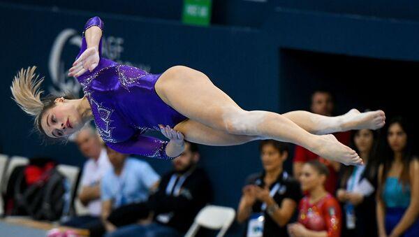 В Баку завершился Кубок мира по спортивной гимнастике - Sputnik Азербайджан