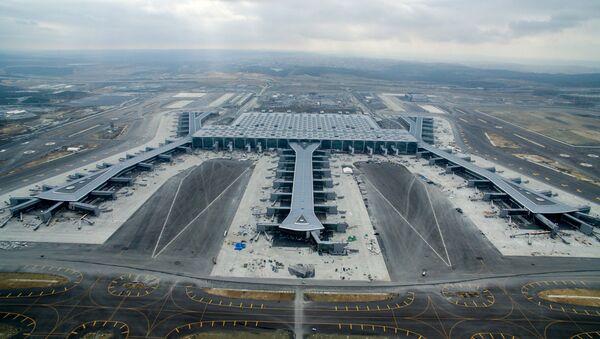 Istanbul Grand Airport, новое здание аэропорта в районе Арнавуткой на европейской стороне Стамбула - Sputnik Азербайджан