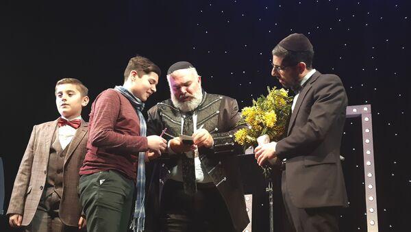 Концерт израильского исполнителя Шимона Сибони - Sputnik Азербайджан
