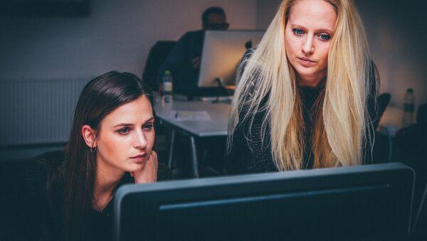 Ofisdə çalışan qadınlar - Sputnik Азербайджан