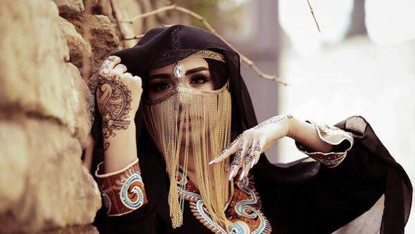Рена Агамурадова в образе арабской принцессы - Sputnik Азербайджан
