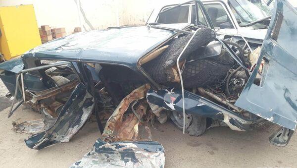 Житель Баку попал в аварию в Товузе - Sputnik Азербайджан