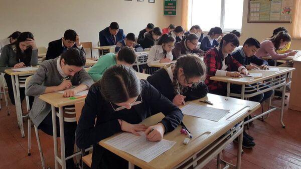 ХI республиканская Олимпиада по русскому языку и литературе прошла в школе-лицее № 8 города Хачмаза - Sputnik Азербайджан