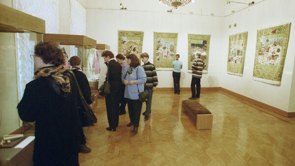 В залах Государственного музея Востока, архивное фото - Sputnik Азербайджан