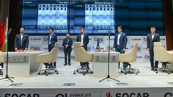 "Шамкире проходит супертурнир по шахматам ""ShamkirChess"" - Sputnik Азербайджан"