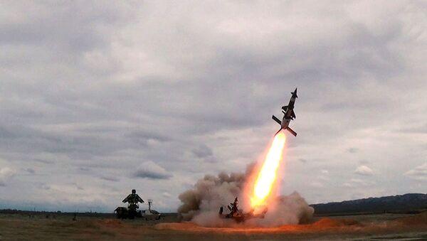 Проведены тактико-специальные занятия войск ПВО Азербайджана - Sputnik Азербайджан