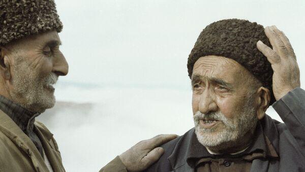 Старожилы из Лерикского района - Sputnik Азербайджан