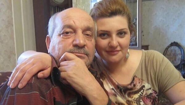 Ramiz Əzizbəyli qızı Cəlalə Əzizbəyli ilə - Sputnik Azərbaycan