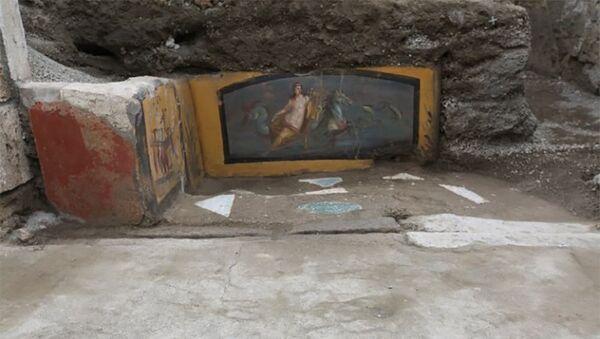 Археологи при раскопках руин города нашли хорошо сохранившуюся закусочную - Sputnik Азербайджан