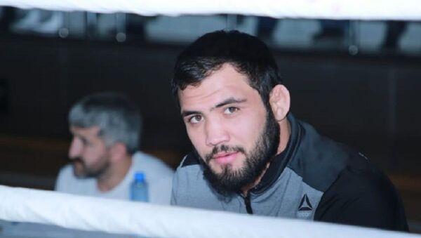 Ведущий боец Азербайджана по смешанным единоборствам Нариман Аббасов - Sputnik Азербайджан