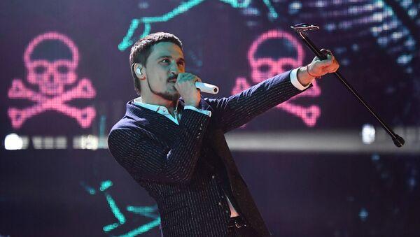 Певец Дима Билан выступает на музыкальной премии Жара Music Awards - Sputnik Азербайджан