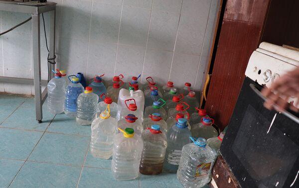 Вода в общежитии - Sputnik Азербайджан