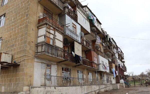 Общежитие в поселке Гызылдаш - Sputnik Азербайджан