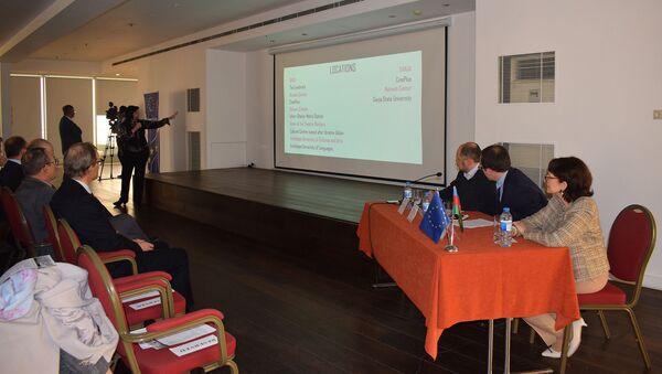 Пресс-конференция к открытию третьего Европейского фестиваля толерантности IMAGINE - Sputnik Азербайджан