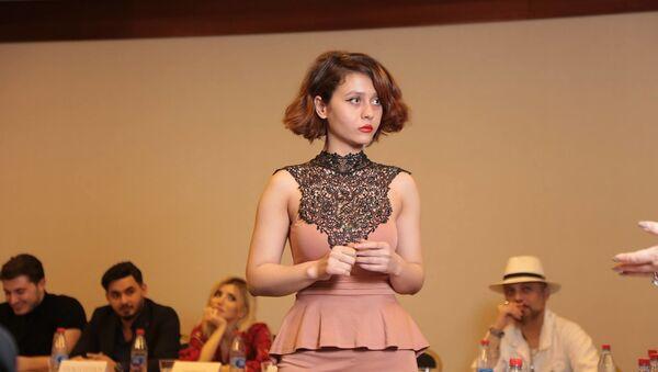 Первый тур отбора международного конкурса красоты Miss & Mister Planet Azerbaijan 2019 - Sputnik Азербайджан