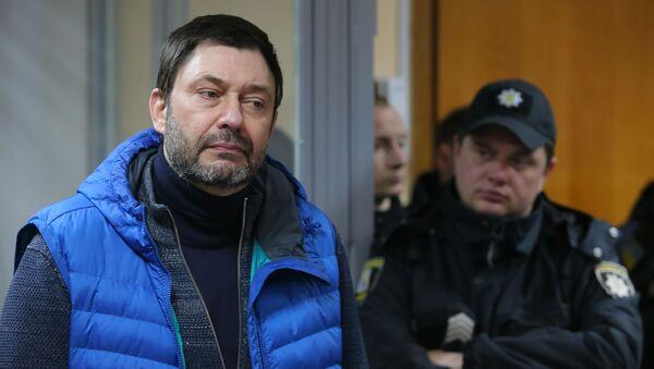 Руководитель портала РИА Новости Украина Кирилл Вышинский - Sputnik Азербайджан