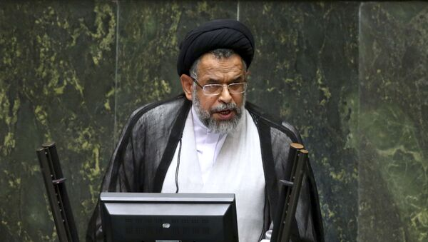 İran İslam Respublikasının İnformasiya naziri (ölkənin xüsusi xidməti) Mahmud Ələvi  - Sputnik Azərbaycan