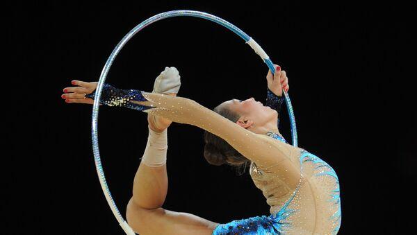 Художественная гимнастика, фото из архива - Sputnik Азербайджан