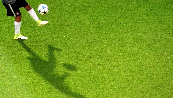 Futbolçunun kölgəsi - Sputnik Азербайджан