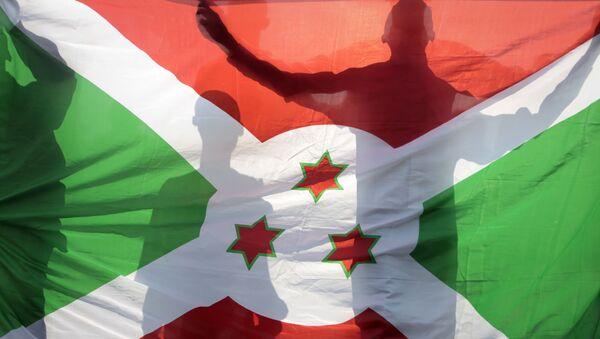 Флаг Бурунди, фото из архива - Sputnik Азербайджан