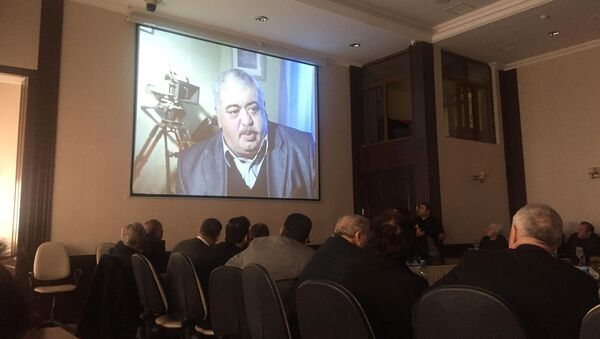 Rejissor Rövşən Almuradlının 65 illik yubileyinə həsr olunmuş anım tədbiri - Sputnik Azərbaycan