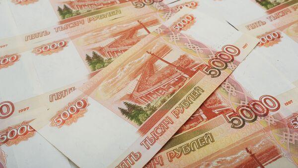 Банкноты номиналом 5000 рублей - Sputnik Азербайджан