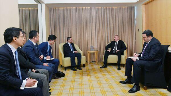 İlham Əliyev China Poly Group Korporasiyasının sədri ilə görüşüb - Sputnik Azərbaycan
