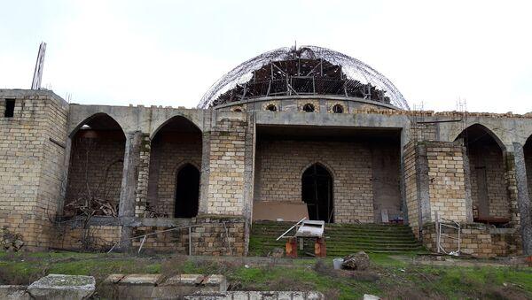 Здание Джума мечети в Бейлагане начали возводить еще 30 лет назад - Sputnik Азербайджан