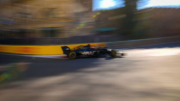 Первый день четвертого сезона Гран-при Азербайджана Формулы-1 - Sputnik Азербайджан