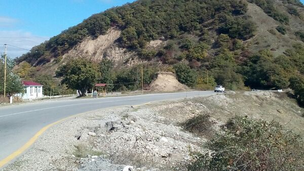 Агсуинский перевал - Sputnik Азербайджан