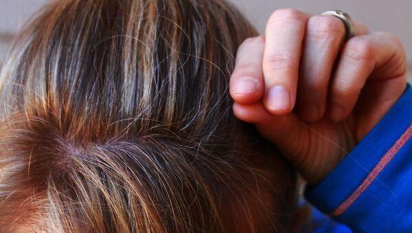 Седые волосы, фото из архива - Sputnik Азербайджан