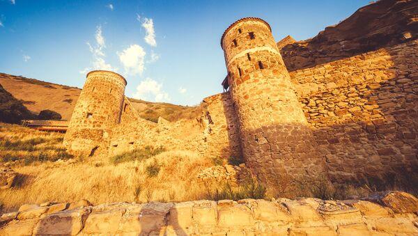 Пещерный город Давид-Гареджи - Sputnik Азербайджан