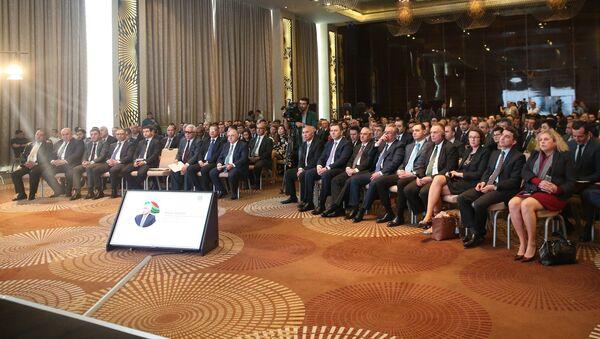 Презентации проекта Дом МСБ (Дом малого и среднего бизнеса) в Баку - Sputnik Азербайджан