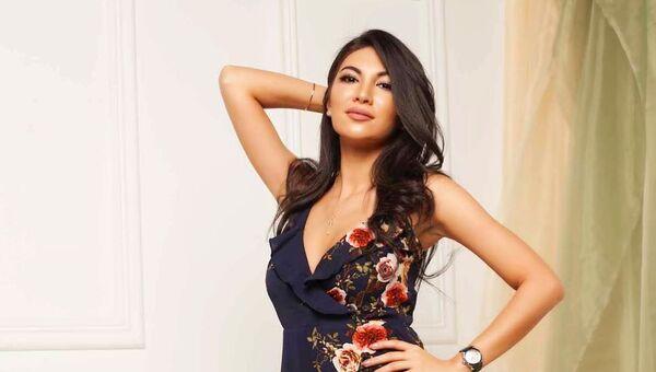 Обладательница титула Мисс Азербайджан-2018 Нармина Гаджиева - Sputnik Азербайджан