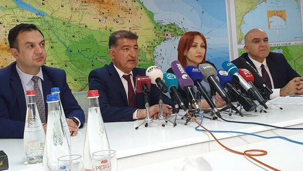 Ekologiya və Təbii Sərvətlər nazirliyində mətbuat konfransı - Sputnik Azərbaycan