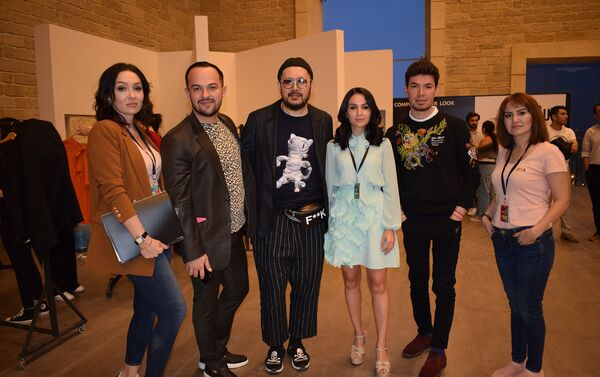 Дизайнеры недели моды - Sputnik Азербайджан