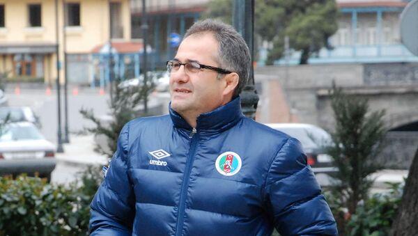 Главный тренер сборной Азербайджана по вольной борьбе Сайпулла Абсаидов - Sputnik Азербайджан