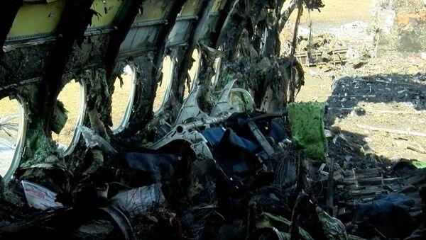 5 мая, в 18.02 лайнер авиакомпании «Аэрофлот» рейса SU1492 Москва-Мурманск вылетел из Шереметьево, после чего пилоты доложили о неисправности и приняли решение вернуться в аэропорт - Sputnik Азербайджан