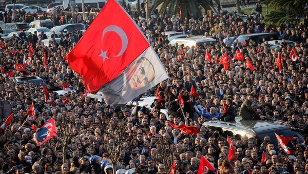 Türk bayrağı - Sputnik Azərbaycan
