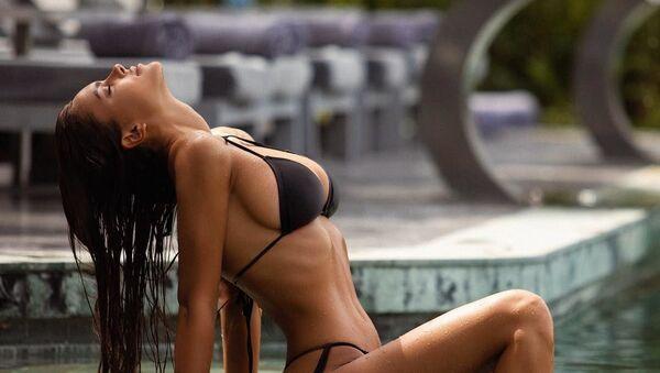 Известная модель, звезда российского Playboy Виктория Одинцова - Sputnik Азербайджан