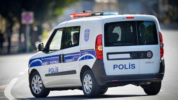 Автомобиль патрульно-постовой службы в Баку - Sputnik Азербайджан
