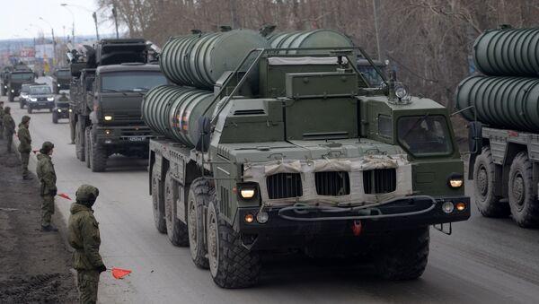 Зенитная ракетная система С-400 Триумф - Sputnik Азербайджан