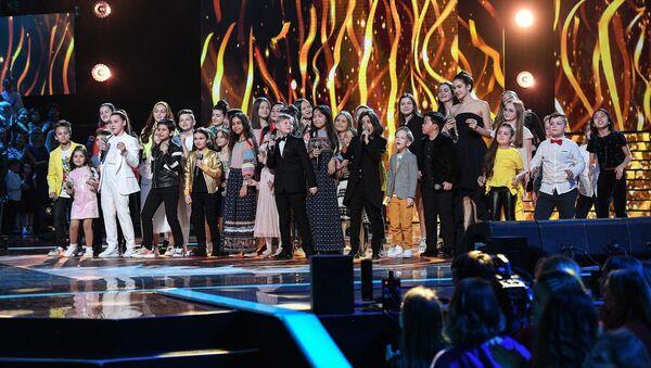 Участники шестого сезона проекта Голос.Дети - Sputnik Azərbaycan