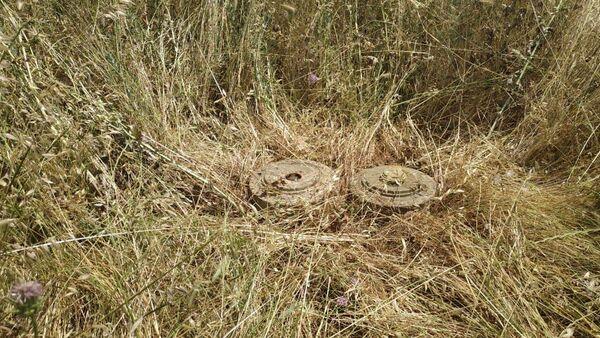 ANAMA обезвредила две активные мины найденные в селе Агбурун Ходжавендского района - Sputnik Азербайджан