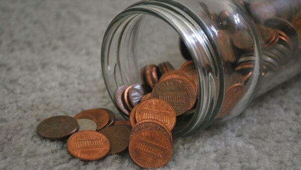 Банка с монетами - Sputnik Азербайджан