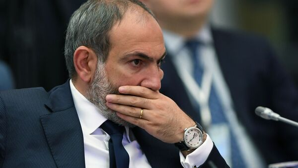 Никол Пашинян на заседании Высшего Евразийского экономического совета в расширенном составе - Sputnik Азербайджан