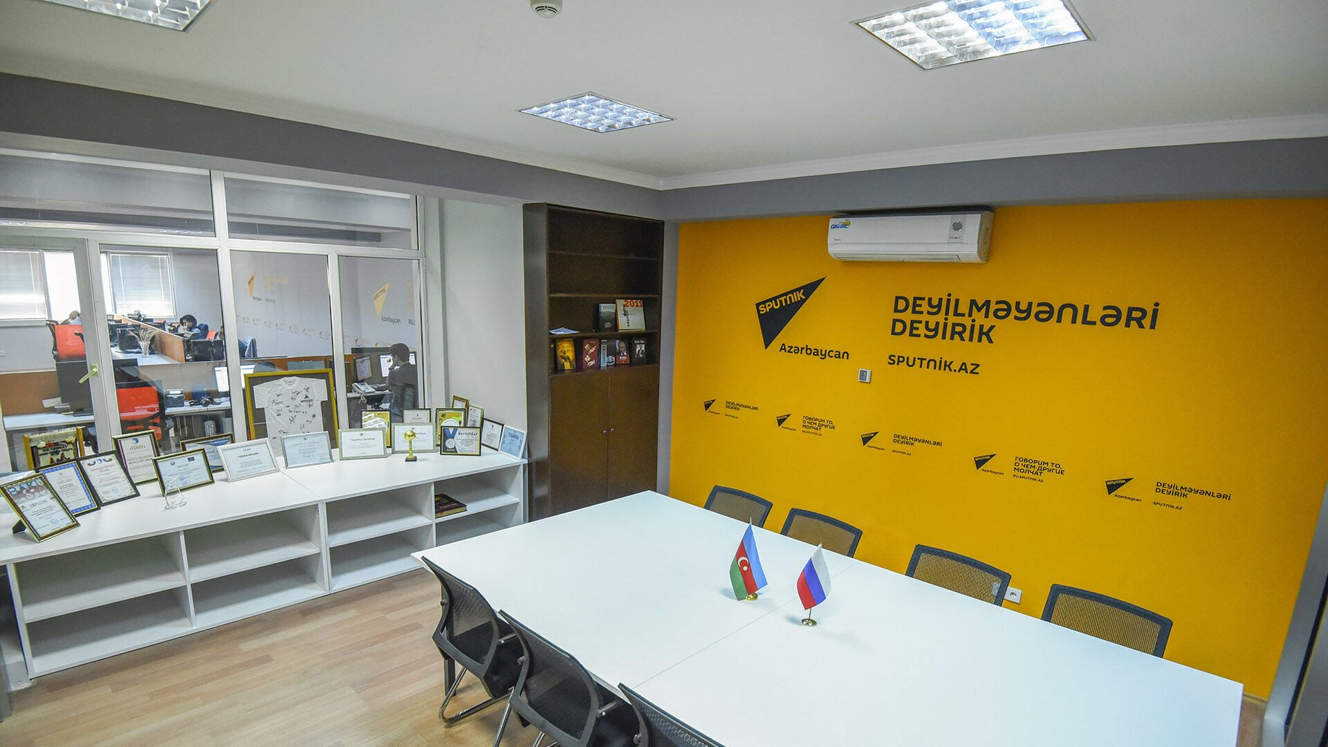 Офис Sputnik Азербайджан, фото из архива - Sputnik Азербайджан, 1920, 06.10.2021